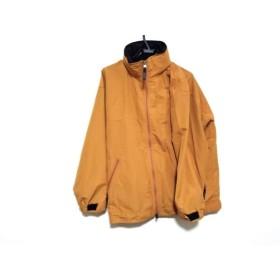【中古】 エーグル AIGLE ブルゾン サイズM レディース オレンジ フード付き(折りたたみ)/春・秋物