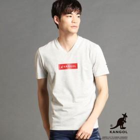 [マルイ] KANGOLコラボVネックTシャツ/ニコルクラブフォーメン(NICOLE CLUB FOR MEN)