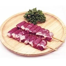 鳥ハツ串 40g×10本 焼き鳥 国産鶏 (15cm丸串)(pr)(42220) 肉 (焼鳥 やきとり)