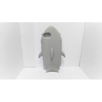 【中古】 ステラマッカートニー 携帯電話ケース ライトグレー 白 iPhoneケース/サメ ラバー