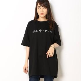 [マルイ] WL84 TS ロゴビッグシルエットTシャツ/トゥービーバイアニエスベー(To b. by agnes b.)