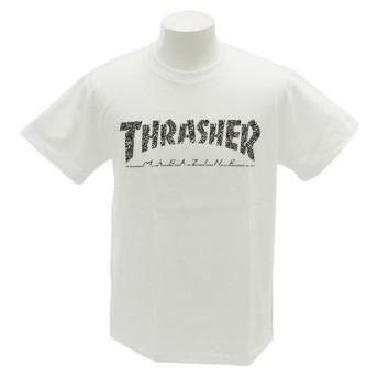 THRASHER HOMETOWN 半袖TシャツTH91113WH (Men's)