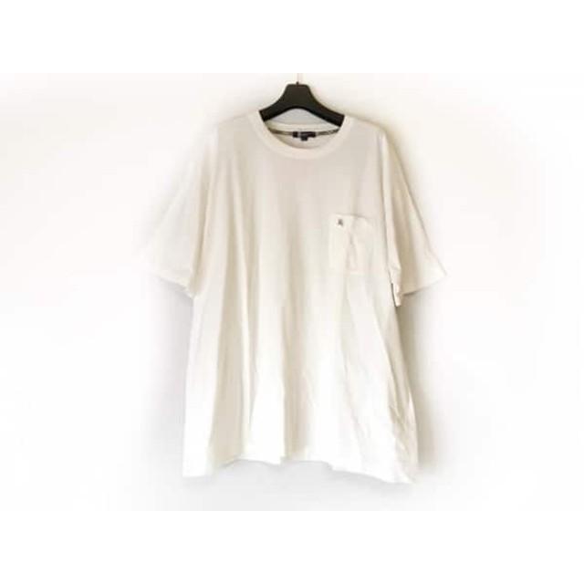【中古】 バーバリーロンドン Burberry LONDON 半袖Tシャツ サイズ3L メンズ 美品 白