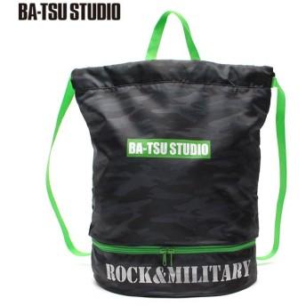 BA-TSU STUDIO バツスタジオ 迷彩プールBAG 黒系迷彩 男児服飾 ボーイズビーチバック 海水小物 575052