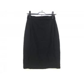 【中古】 マックスマーラ Max Mara スカート サイズ40(J) レディース 美品 黒