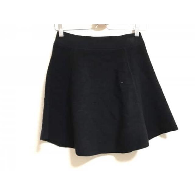 【中古】 セオリー theory ミニスカート サイズS レディース 黒