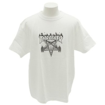 THRASHER SKATE GOAT 半袖Tシャツ TH91227WH (Men's)