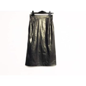 【中古】 グレースコンチネンタル GRACE CONTINENTAL スカート サイズ38 M レディース パープル ラメ