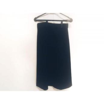 【中古】 トゥモローランド TOMORROWLAND ロングスカート サイズ34 S レディース 黒