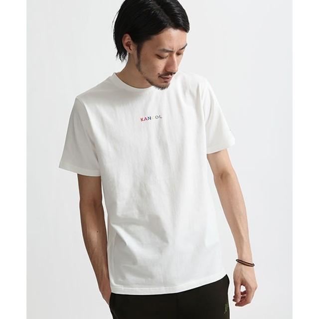 f31457829a6 [マルイ] ZIP FIVE × KANGOL センター刺繍クルーネック半袖Tシャツ/ジップ. トップ メンズファッション トップス Tシャツ・ カットソー