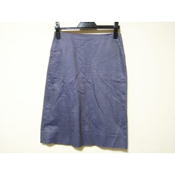 【中古】 ドレステリア DRESSTERIOR スカート サイズ38 M レディース ネイビー