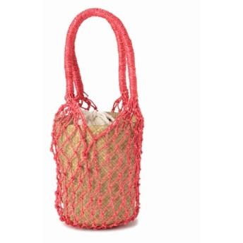JOURNAL STANDARD relume 【BANAGO/バナゴ】 RAI Mini Bucket Bag:バッグ レッド フリー