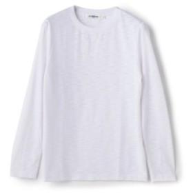 (Men's Bigi/メンズビギ)【2017AW商品】クルーネックロングスリーブTシャツ/メンズ ホワイト