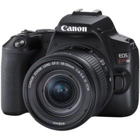 CANON EOS Kiss X10 EF S18-55 IS STM ブラック デジタル一眼レフカメラ (2410万画素)