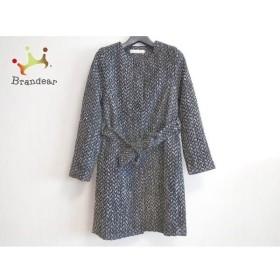 ガリャルダガランテ GALLARDAGALANTE コート サイズF レディース 美品 黒×白 冬物 新着 20190508