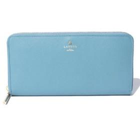 (LANVIN en Bleu(BAG)/ランバンオンブルー(バッグ))リュクサンブールカラー ラウンドファスナー長財布/レディース ブルー 送料無料