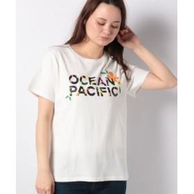 (Ocean Pacific/オーシャンパシフィック)レディス Tシャツ/レディース ホワイト