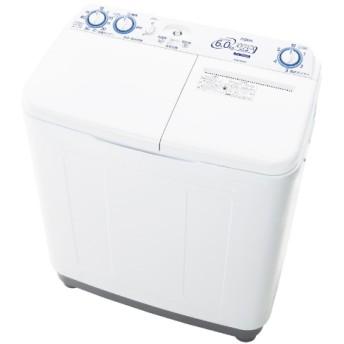 AQW-N60-W 2槽式洗濯機 ホワイト [洗濯6.0kg]