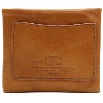 (GALLERIA/ギャレリア)ソラチナ 財布 SOLATINA 二つ折り財布 二つ折り SW-60054/ユニセックス キャメル 送料無料