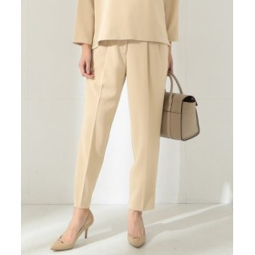 (BEAMS OUTLET/ビームス アウトレット)Demi-Luxe BEAMS/2タック センタープレスパンツ/レディース BEIGE