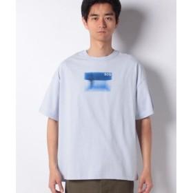 (BENETTON (UNITED COLORS OF BENETTON)/ベネトン(ユナイテッド カラーズ オブ ベネトン))Rivieraフォト半袖Tシャツ・カットソー/メンズ ブルー