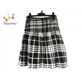 ネイバーフッド NEIGHBORHOOD スカート サイズXS レディース グレー×黒×白 チェック柄   スペシャル特価 20190820