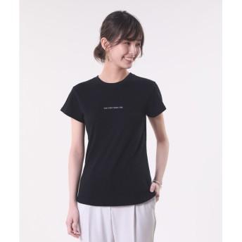 【PLST】【CHIHARU DODO】hersプリントTシャツ (メッセージTシャツ)