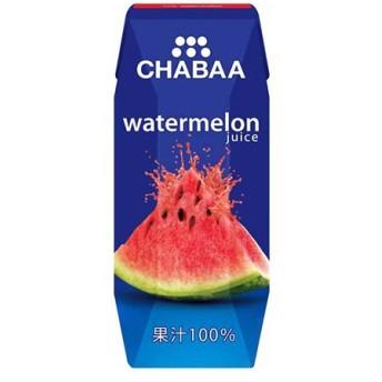 チャバ 100%ジュース ウォーターメロン (180ml×36本)