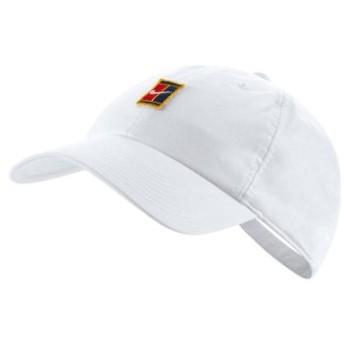 (atmos/アトモス)NIKE U NK H86 COURT LOGO CAP WHITE/ユニセックス ホワイト