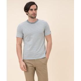 (AIGLE/エーグル)リバースTシャツ/メンズ NILEBLUE