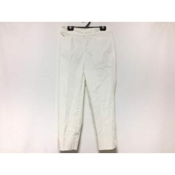 【中古】 ニジュウサンク 23区 パンツ サイズ30 XS レディース 白