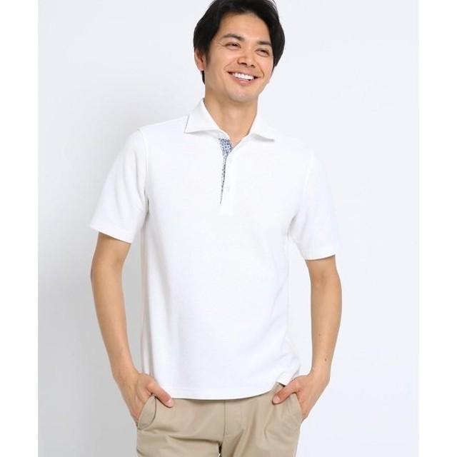 TAKEO KIKUCHI / タケオキクチ [ 速乾 防臭 フレポロ ] メランジハニカム ポロシャツ