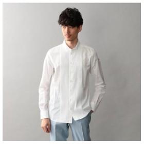 (LOVELESS/ラブレス)【Education from Youngmachines】MENS フロントタックウィングカラーシャツ/メンズ ホワイト 送料無料