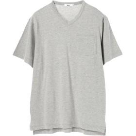 【5,000円以上お買物で送料無料】mens e VネックポケットTシャツ
