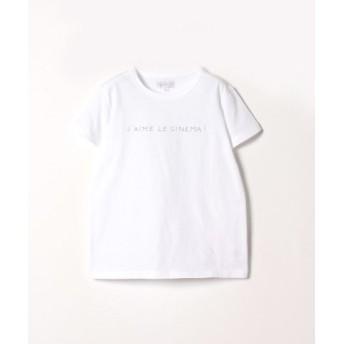 (agnes b./アニエスベー)S345 TS メッセージTシャツ/レディース ホワイト 送料無料