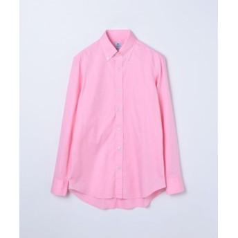 (TOMORROWLAND/トゥモローランド)ERRICO FORMICOLA コットン ボタンダウン ドレスシャツ/メンズ 33ピンク 送料無料