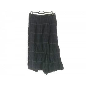 【中古】 ジーンナッソーズ パンツ サイズ3 L レディース ダークネイビー ダークグレー ダークグリーン