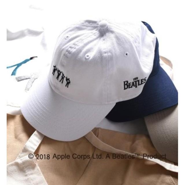 (SHIPS/シップス)SU: BEATLES キャップ/メンズ ホワイト 送料無料