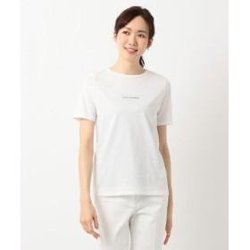 (ICB(LARGE SIZE)/ICB(大きいサイズ))Wit ロゴ Tシャツ/レディース ホワイト系