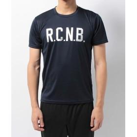 (SPORTS AUTHORITY/販売主:スポーツオーソリティ)ナンバー/メンズ/R.C.N.B. ベーシック RUN クルーネックTシャツ/メンズ ネイビー