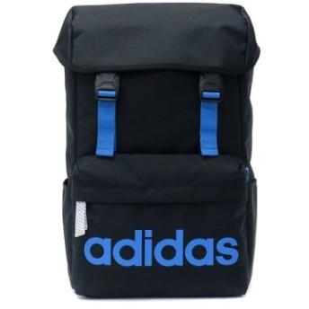 (GALLERIA/ギャレリア)アディダス リュック adidas バッグ スクールバッグ リュックサック デイパック かぶせ型 20L 47893/ユニセックス ブラック系2 送料無料