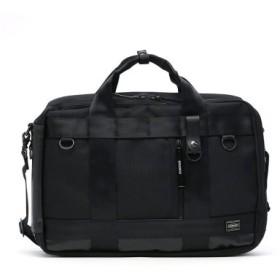 (GALLERIA/ギャレリア)吉田カバン ポーター ヒート ビジネスバッグ PORTER HEAT ブリーフケース 3WAY BRIEFCASE ビジネスリュック 日本製 703-06980/メンズ ブラック