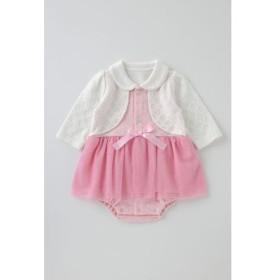 (chuckleBABY/チャックルベビー)ティノティノスカート付ロンパース/レディース ピンク