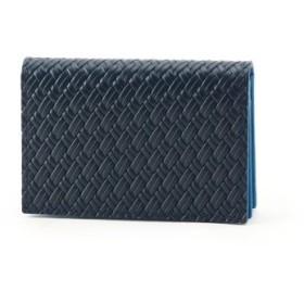 (TAKEO KIKUCHI/タケオキクチ)マルチカラー名刺カードケース[メンズ 名刺入れ カードケース]/メンズ ブルー(592)