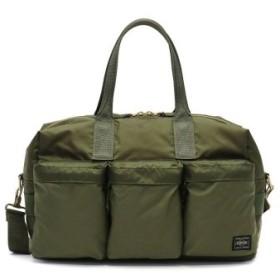 (GALLERIA/ギャレリア)吉田カバン ポーター ボストンバッグ PORTER FORCE フォース 2WAY DUFFLE BAG(S) ダッフルバッグ 855-05455/ユニセックス オリーブ