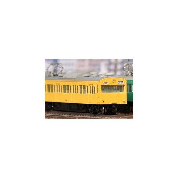 18016 国鉄 JR 103系<低運 非ユニット窓 冷改車 カナリア> 増結