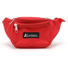 (UNCUT BOUND/アンカットバウンド)EVEREST(エベレスト) ウエストバッグ Signature waist Pack STANDARD/メンズ RED