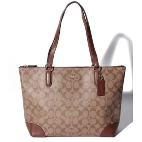 (Import Select Store/インポートセレクトストア)COACH OUTLET F29208 IME74 トートバッグ/レディース ブラウン系