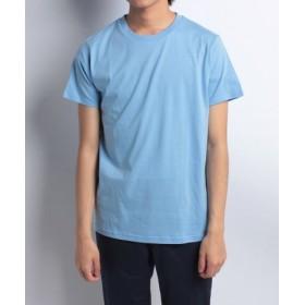 (URBAN RESEARCH OUTLET/アーバンリサーチ アウトレット)【ITEMS】半袖カラーTシャツ/メンズ ブルー