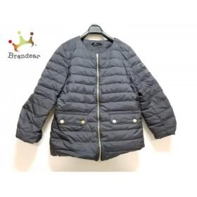 タトラス TATRAS ダウンジャケット サイズ3 L レディース 美品 黒 ノーカラー/冬物 新着 20190508
